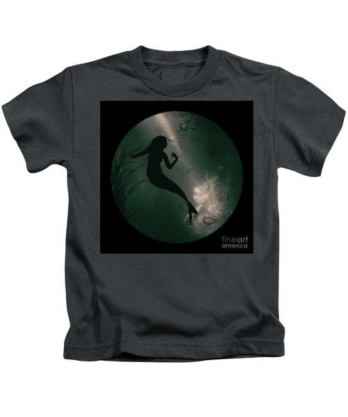 Mermaid Deep Underwater Kids T-Shirt