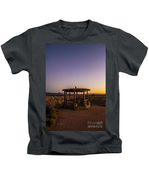 Cathedral Gorge Gazebo Kids T-Shirt