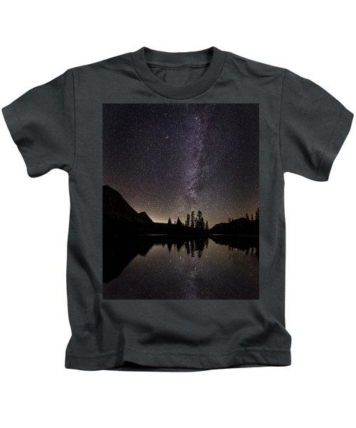 Mirror Lake Milky Way Kids T-Shirt