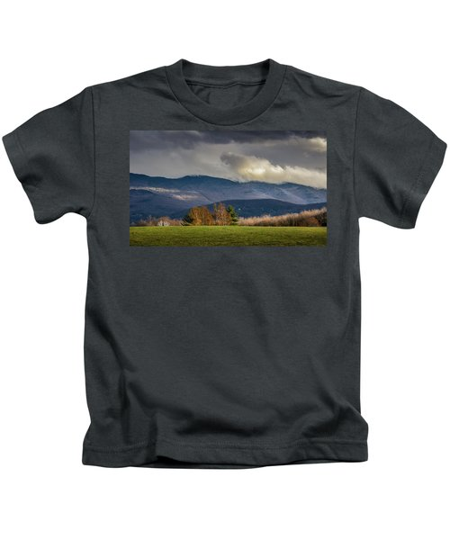 Mountain Weather Kids T-Shirt