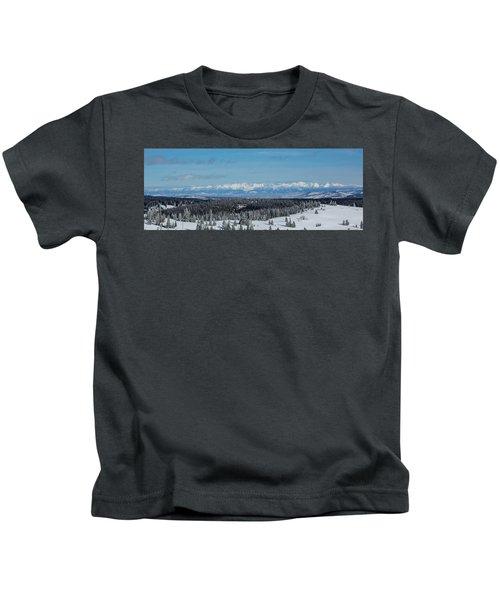 Never Summer  Kids T-Shirt