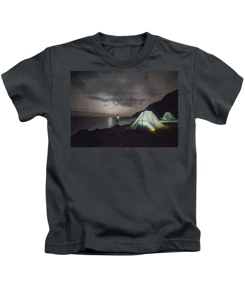 Night Gazer Kids T-Shirt
