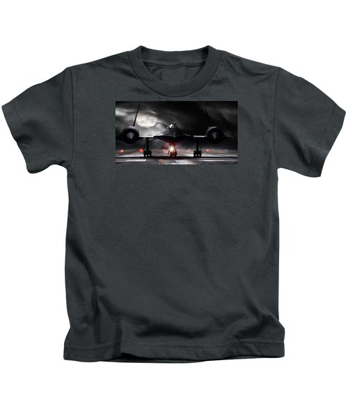 Night Moves Kids T-Shirt by Peter Chilelli