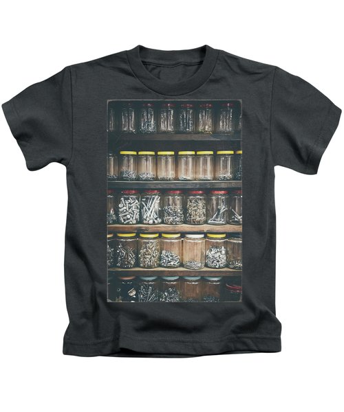 Nuts And Bolts And Bolts And Nuts Kids T-Shirt