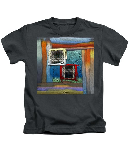 Obstructed Ocean View Kids T-Shirt