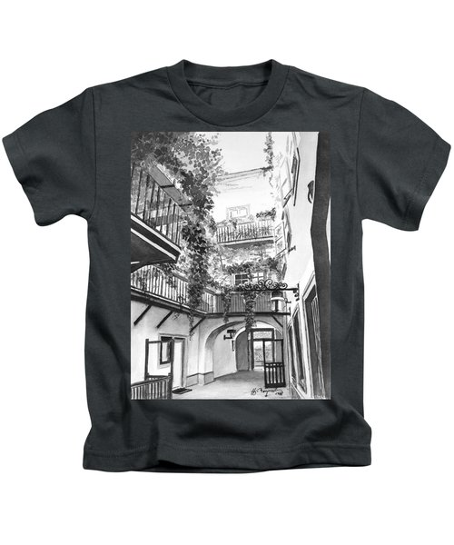 Old Viennese Courtyard Kids T-Shirt