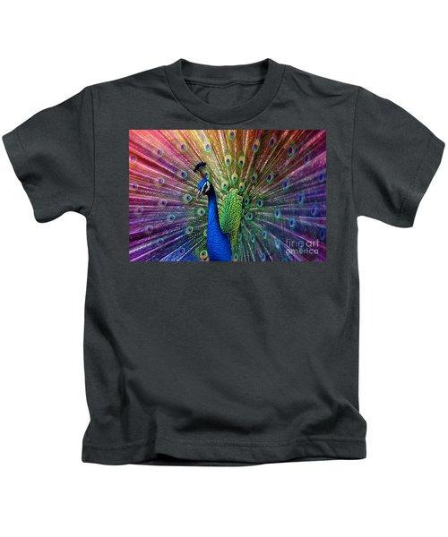 Peacock Kids T-Shirt