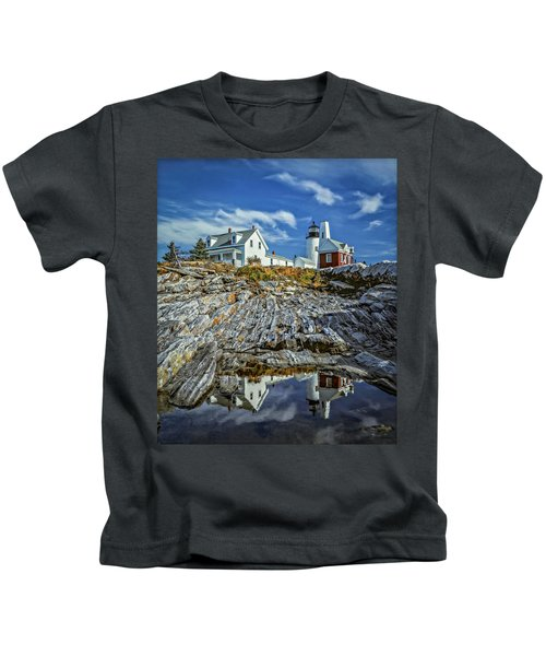 Pemaquid Reflections Kids T-Shirt