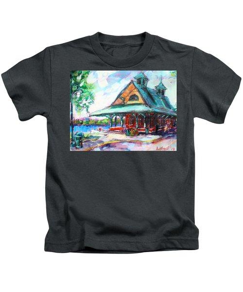 Pewaukee Depot Kids T-Shirt