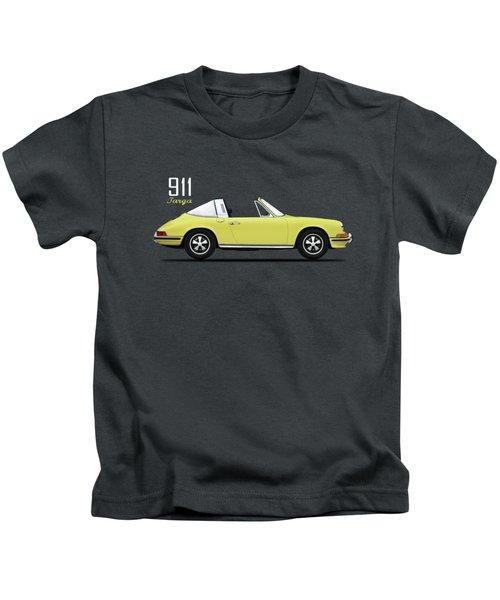 Porsche 911 Targa Kids T-Shirt