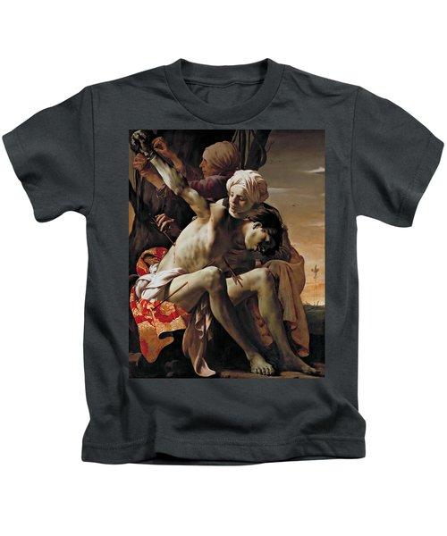Sebastian Tended By Irene Kids T-Shirt
