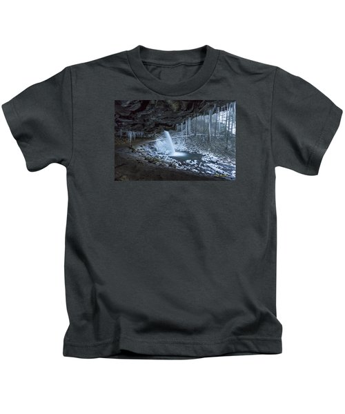 Sheltered From The Blizzard Signed Kids T-Shirt