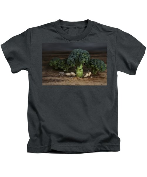 Simple Things - Man And Dog Kids T-Shirt