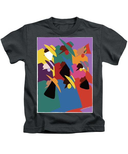 Sisters Of Courage Kids T-Shirt