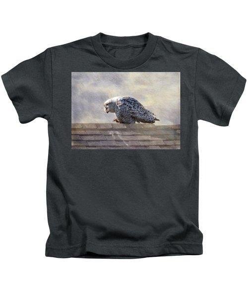 Snowy Owl  Kids T-Shirt