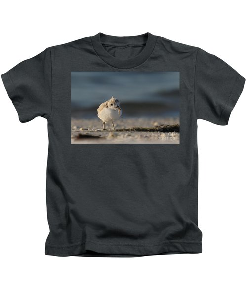 Snowy Plover Kids T-Shirt