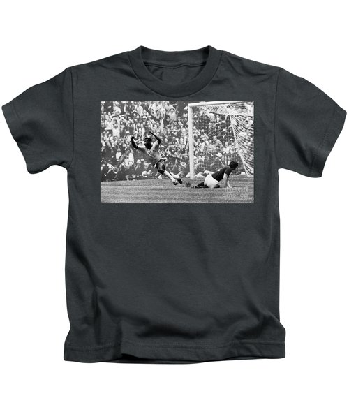 Soccer: World Cup, 1970 Kids T-Shirt by Granger