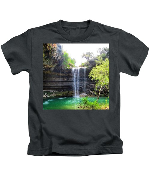 Spent The Day At Hamilton Pool. Yes Kids T-Shirt