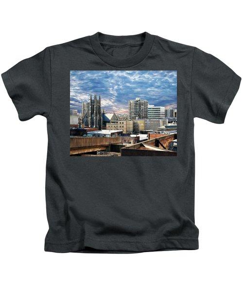 Stamford Cityscape Kids T-Shirt