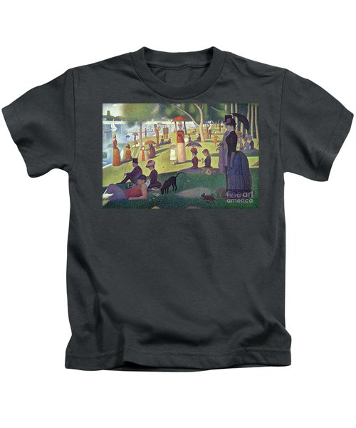 Sunday Afternoon On The Island Of La Grande Jatte Kids T-Shirt