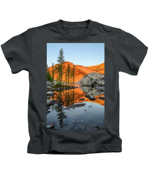 Sunrise In The Enchantments Kids T-Shirt
