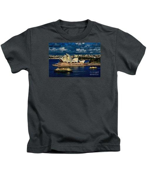 Sydney Opera House Australia Kids T-Shirt
