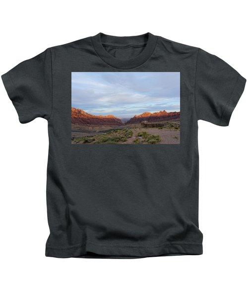 The Castles Near Green River Utah Kids T-Shirt
