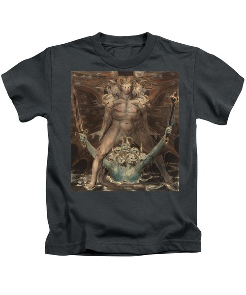The Great Red Dragon And The Beast From The Sea Kids T-Shirt