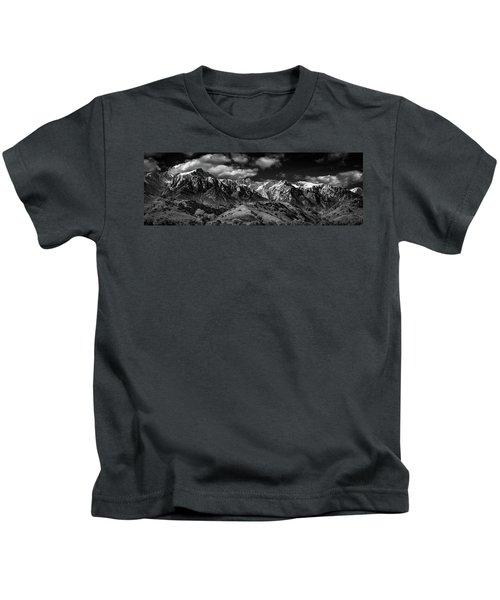 The Majestic Sierras Kids T-Shirt
