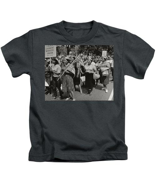 The March On Washington Kids T-Shirt