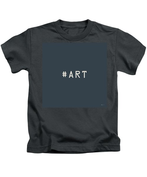 The Meaning Of Art - Hashtag Kids T-Shirt
