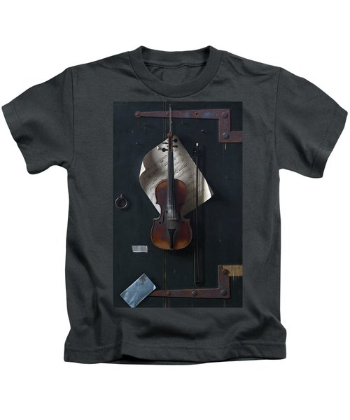 The Old Violin Kids T-Shirt
