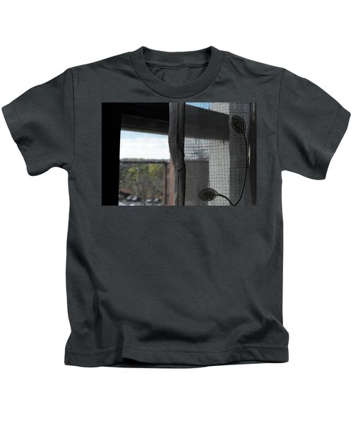 The View From The Window Kids T-Shirt