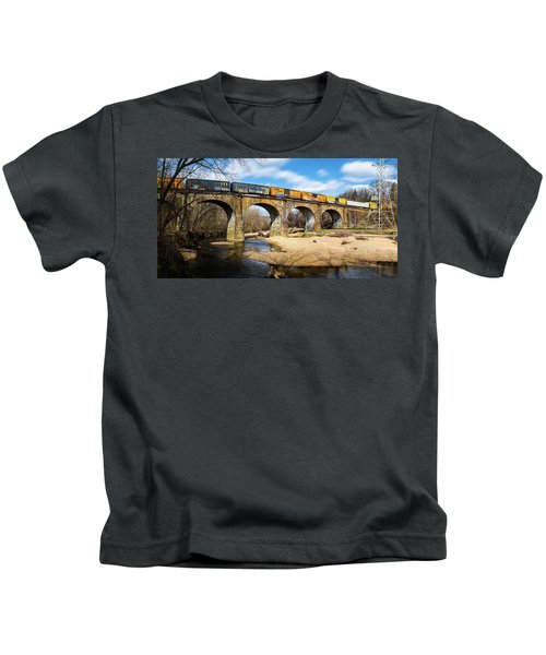 Thomas Viaduct Panoramic Kids T-Shirt