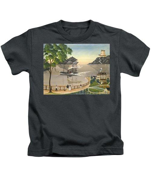 U S Mail Boat Kids T-Shirt