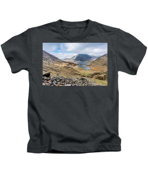 View From Glyder Fawr Kids T-Shirt