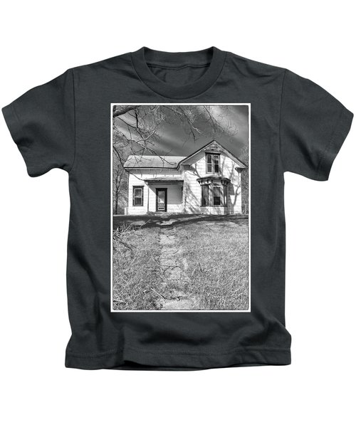 Visiting The Old Homestead Kids T-Shirt