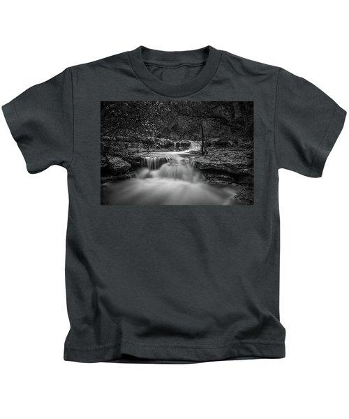 Waterfall In Austin Texas Kids T-Shirt