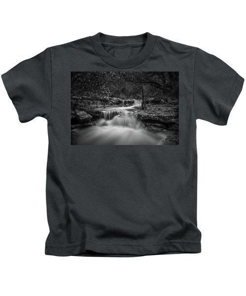 Waterfall In Austin Texas Kids T-Shirt