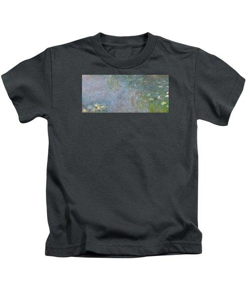 Waterlilies Morning Kids T-Shirt