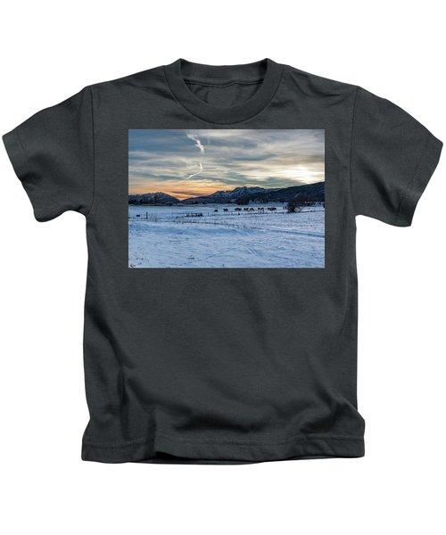 Winter Range Kids T-Shirt