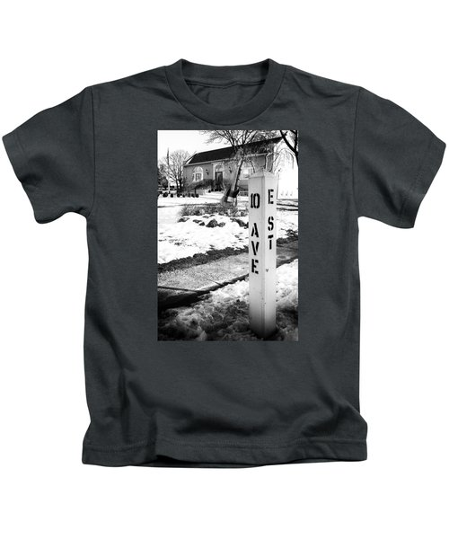 10 Ave And E St Belmar New Jersey Kids T-Shirt