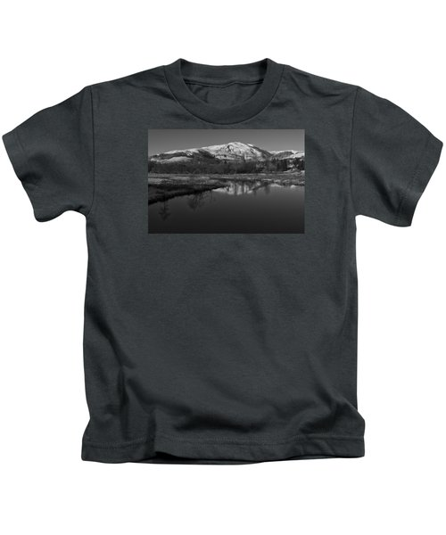 Trossachs Scenery In Scotland Kids T-Shirt
