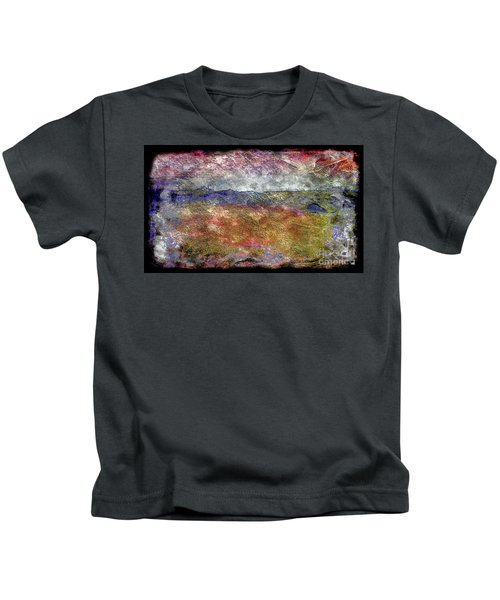 10c Abstract Expressionism Digital Painting Kids T-Shirt