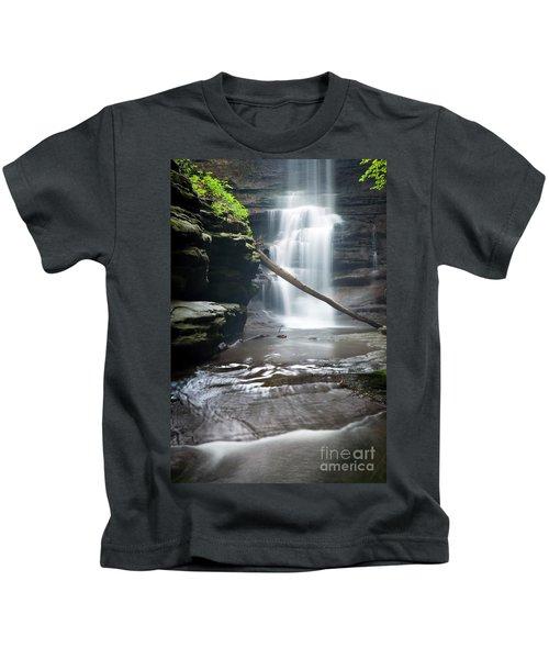 1453 Lake Falls Kids T-Shirt