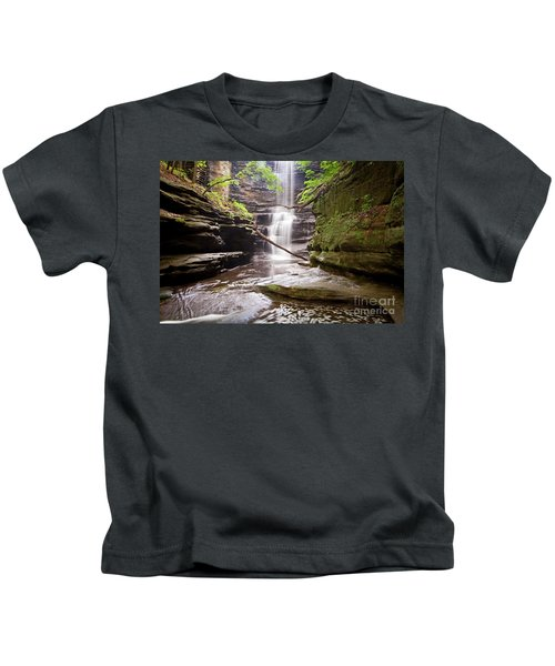 1455 Lake Falls Matthiessen State Park Kids T-Shirt