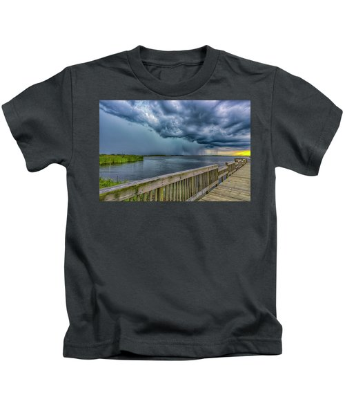 Storm Watch Kids T-Shirt