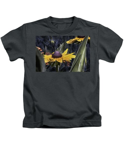 Thinking Of Vincent Van Gogh Kids T-Shirt