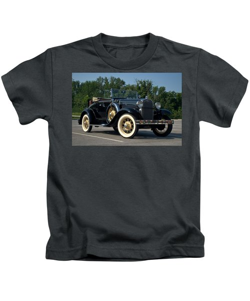 1931 Ford Model A Roadster Kids T-Shirt