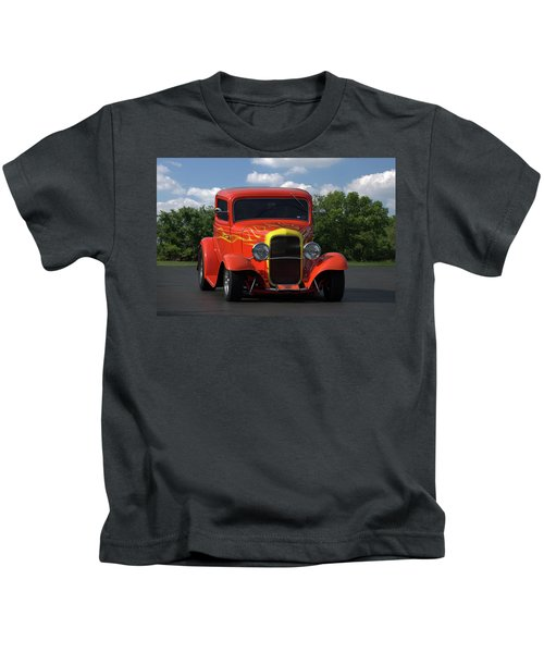 1932 Ford Lil Deuce Coupe Kids T-Shirt